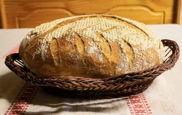 receta-de pan casero con amasadora