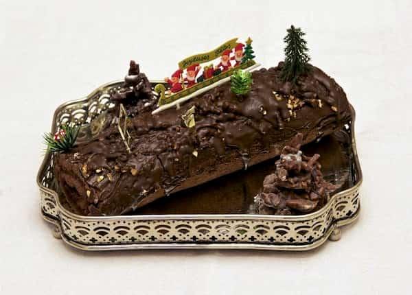 receta tronco de navidad