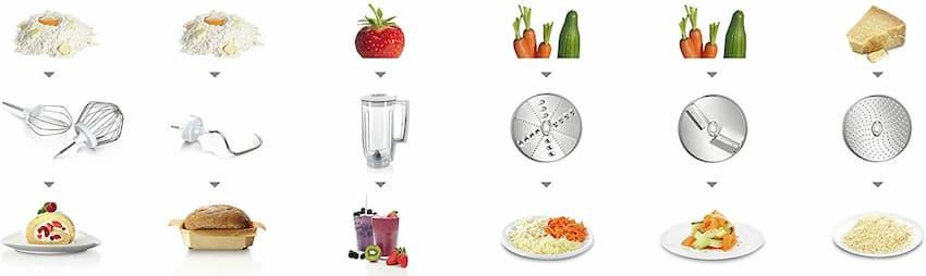 robot de cocina Bosch MUM58720 barata