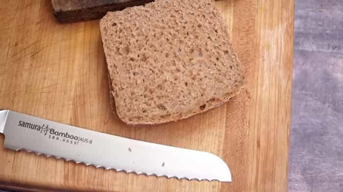 Receta de pan integral con amasadora